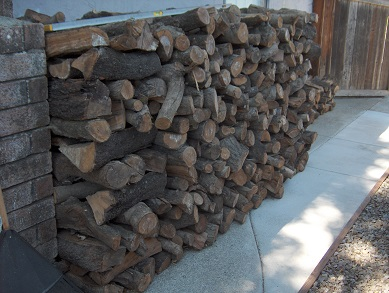 Firewood 'Neatly Ranked And Stacked' To Verify A Full Cord Of Firewood Was Delivered To The Customer