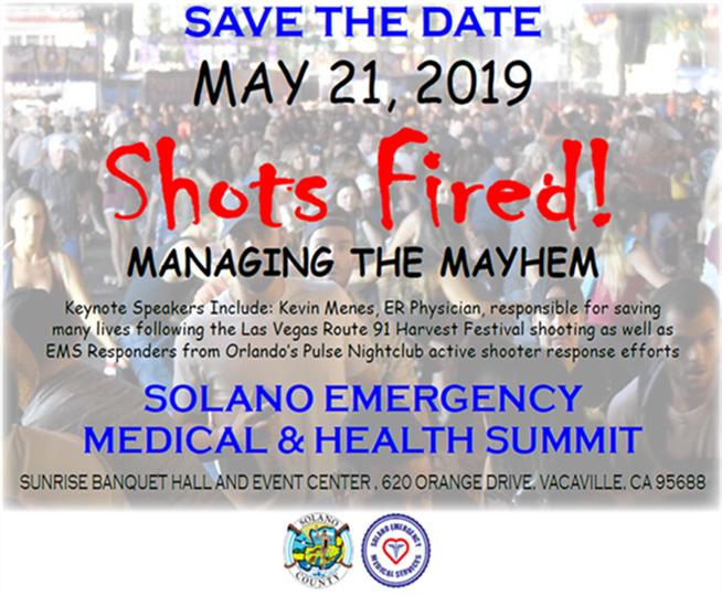 Solano County - Solano Emergency Medical and Health Summit