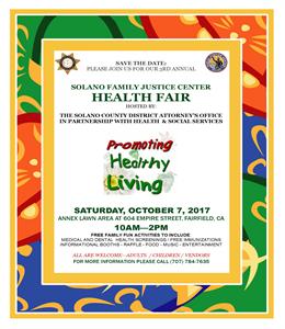 sample health fair flyers